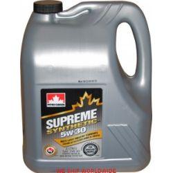 Olej silnikowy 5W30 5W 30 5W-30 Supreme SYNTHETIC 4l PETRO-CANADA Chevrolet Pontiac Ford Chrysler Honda HTO-06...