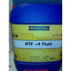olej ATF+4 RAVENOL ATF Fluid +4 10l Chrysler Dodge Jeep...