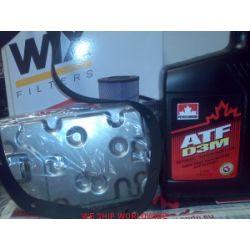 Toyota Sienna 3.0 2000-2004 zestaw do wymiany oleju w skrzyni biegów filtr hydrauliki i olej...