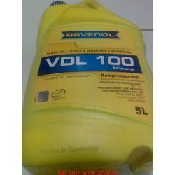 olej do sprężarek mineralny VDL 100 RAVENOL Kompressoren-Oel 5l VBL, VCL...