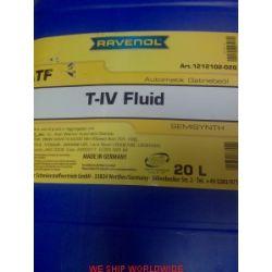 olej do automatycznej skrzyni biegów RAVENOL ATF T-IV Fluid 20l JWS 3309,JWS-3309...