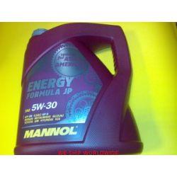 olej MANNOL 5W30 ENERGY FORMULA JP 4l Hyundai Kia Daewoo...