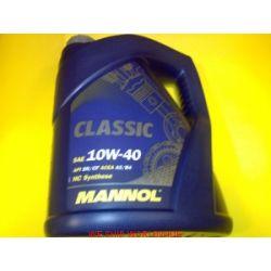 Olej MANNOL Classic 10W40 10W-40 półsyntetyczny 5L...