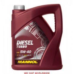 Olej MANNOL Diesel Turbo 5W-40 5W40 CI-4/SL 505.00 5L...