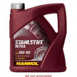 olej 5W50 5W-50 MANNOL STAHLSYNT ULTRA SL/CF 4l JAK MOBIL...