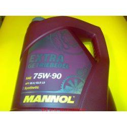 olej MANNOL Extra Getriebeoel 75W90 API GL4 GL5 4l...