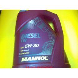 olej Mannol 5W30 TDI 505.01 5L Edge Pompowtryski...