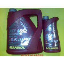 Zestaw do wymiany oleju w automatycznej skrzyni biegów DP0 , AL4 - 5/4 HP 5l Mannol -Germany...