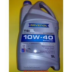 olej RAVENOL TSi SAE 10W-40 5l MB 229.1, VW 501.00,VW 505.00, BMW Special Oil TD TDS, Landrover Special Oil...