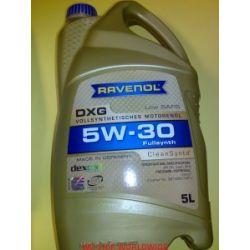 olej RAVENOL DXG SAE 5W-30 5W30 5l GM dexos1 , GMW 16181 Opel Chevrolet GM...