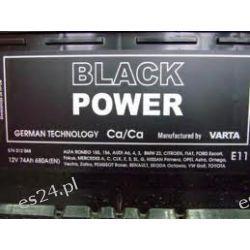 Akumulator 72Ah Wrocław 640A P+ Varta Black Power