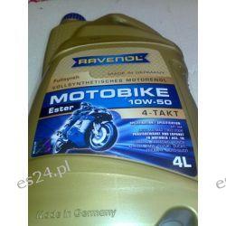 olej silnikowy syntetyczny RAVENOL Motobike 10W-50 Ester 10W50 4L 4-TAKT do motocykli