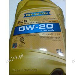 olej silnikowyRAVENOL Eco Synth ECS SAE 0W-20 0w20 5L Jaguar Land Rover STJLR.51.5122