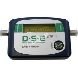 Miernik sygnału DVB-T telewizyjny + etui
