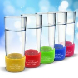 Radioaktywne szklanki - ZESTAW 5 szt