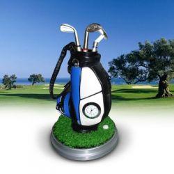 Torba golfowa z zegarkiem Przybornik na biurko z d