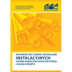Informacyjny cennik materiałów instalacyjnych, s
