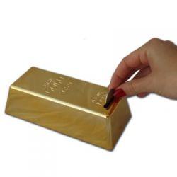 Sztaba złota - skarbonka