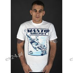 MANTO t-shirt AIRLINES biały