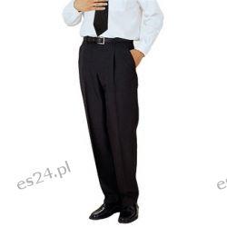 Spodnie Wizytowe Czarne 80 - 110 pas