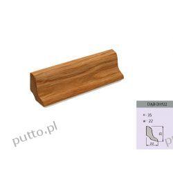 Listwa podłogowa, dąb D3522