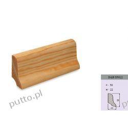 Listwa podłogowa, dąb D5022