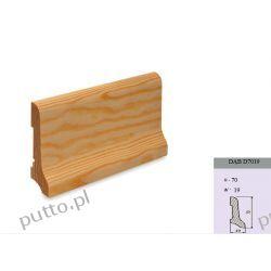 Listwa podłogowa, dąb D6520