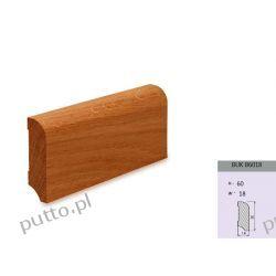 Listwa Podłogowa, drewno bukowe B6018