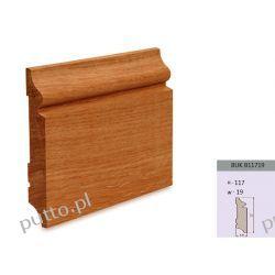 Cokół, drewno  bukowe, listwa dekoracyjna do wnętrz i tarasów, wymiar  B117/19