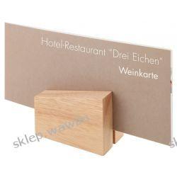 Ekspozytor na stół drewniany