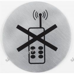 Oznaczenie stalowe przyklejane