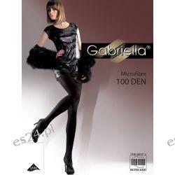 Rajstopy Gabriella Microfibre 124 100 den r.2-4 ,polski produkt
