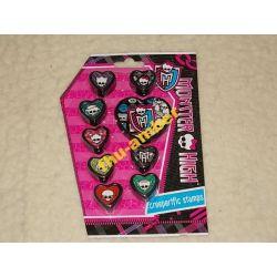 Monster High pieczątki, stempelki