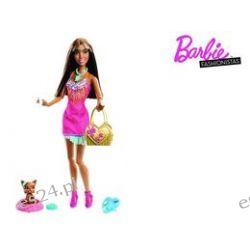 Barbie, Fashionista, lalka z pupilem, murzynka