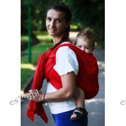 Chusta do noszenia dzieci, tkana splotem skośno-krzyżowym