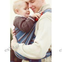 Chusta do noszenia dziecka, tkana splotem skośno-krzyżowym -