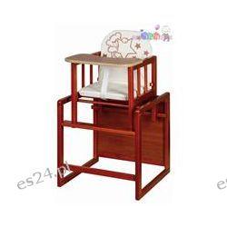 Drewniane krzesełko do karmienia Agnieszka I Klupś