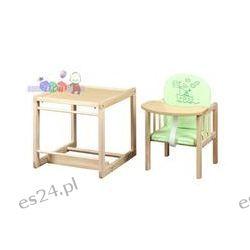 Krzesełka do karmienia niemowląt, drewniane krzesełko Agnieszka II Klupś