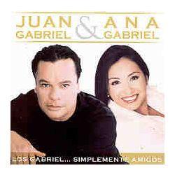 JUAN & ANA GABRIEL: LOS GABRIEL SIMPLEMENTE AMIGOS (CD)