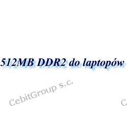 512MB DDR2 do laptopów