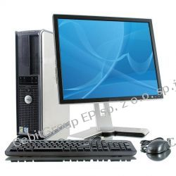 Zestaw DELL OptiPlex 740 LCD 19""