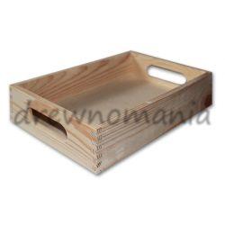 tacka z surowego drewna