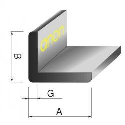Kątowniki kątownik aluminowy aluminiowe 60x40x3