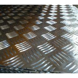 Aluminiowa blacha ryflowana łezka 2x1000x1000
