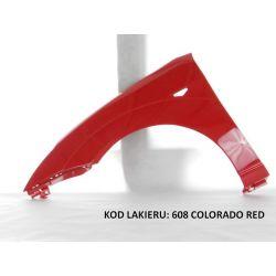 BŁOTNIK FORD FOCUS MK1 MKI 98-04 608 COLORADO RED