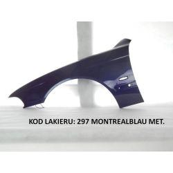 BŁOTNIK PRZEDNI BMW 5 E39 96-04  297 MONTREALBLAU