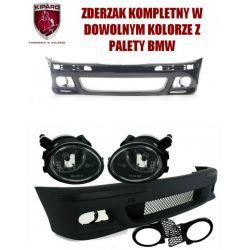 Zderzak halogeny BMW 5 E39 M-PAKIET PDC SRA kolory