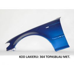BŁOTNIK LE/PR BMW 3 E46 E 46 98-05 TOPASBLAU 364
