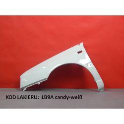 Błotnik lewy VW Golf 3 III LB9A biały candy-weis
