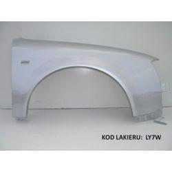 Błotnik prawy OCYNK Audi A6 C5 97-00 LY7W srebrny